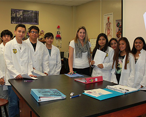 Palomares Academy of Health Sciences awarded 'Distinguished' status