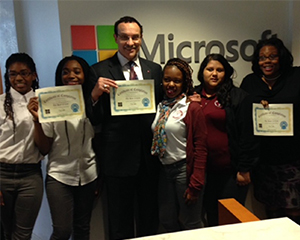 D.C. tech students spend 'Hour of Code' at Microsoft