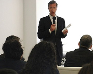 Hospitality Students Get Inside Scoop From Marriott's CEO