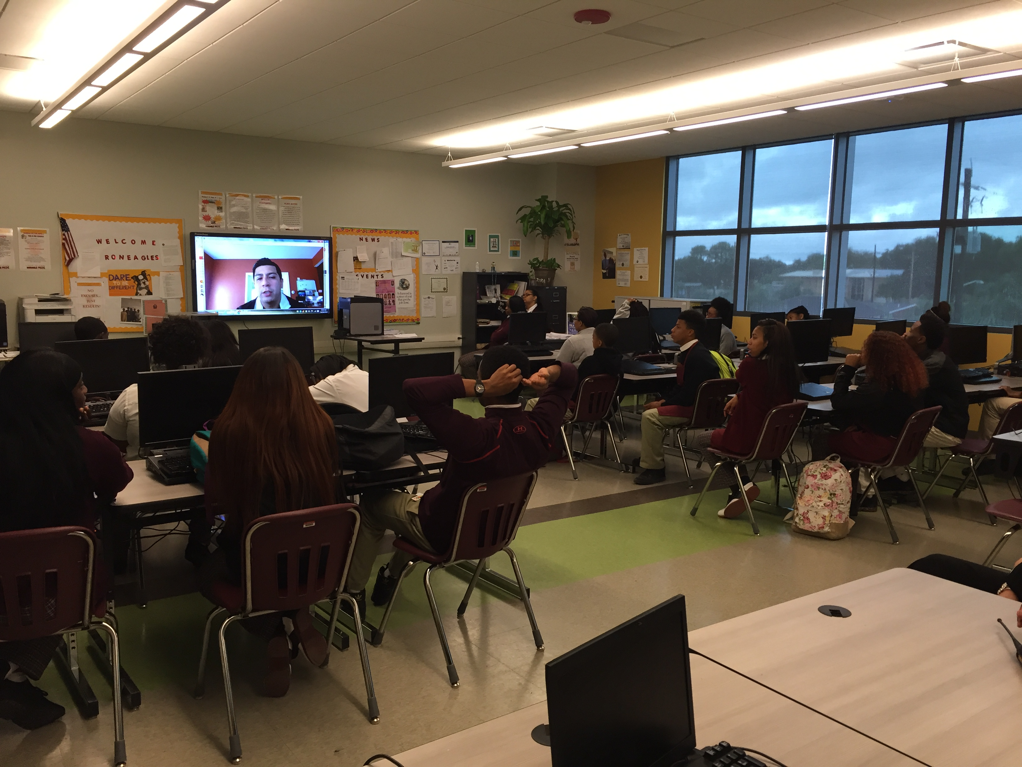 Technologists Encourage STEM with First Lenovo in the Classroom Day