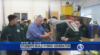 Hartford students build generator for a Nepal village