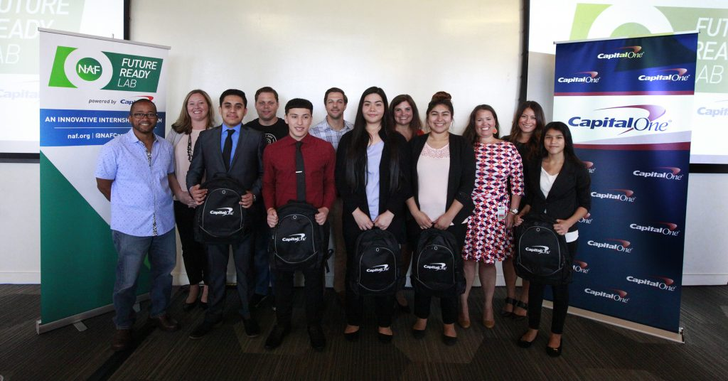 Training Tomorrow's Leaders: High School Team Wins at Capital One/NAF Internship Lab