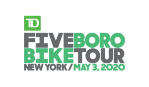 Five Boro Bike Tour 2020 logo