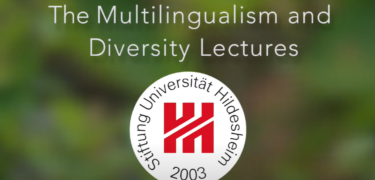 Text reads: The Multilingualism and Diversity Lectures