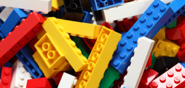 A pile of Legos.