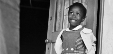 Ruby Bridges as a child.
