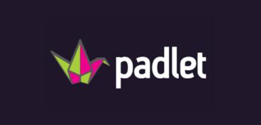 The logo of padlet.