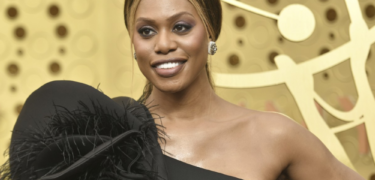Laverne Cox at an event.